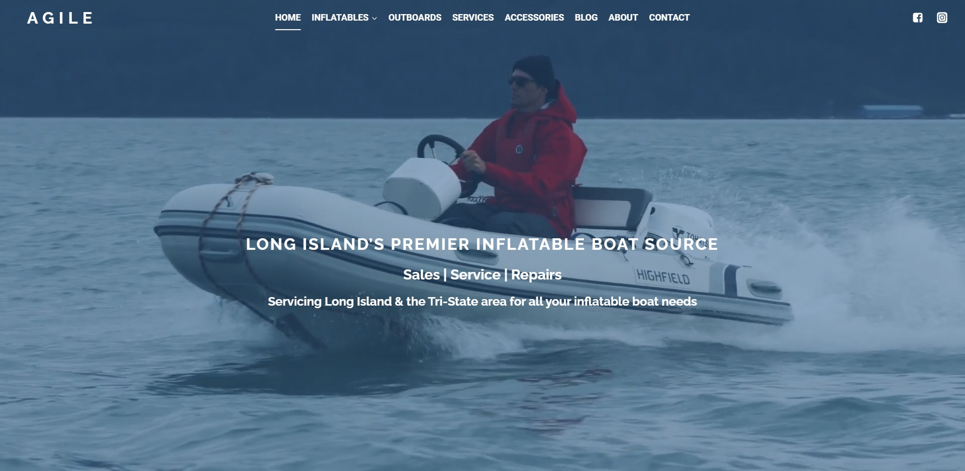 Boat Demo 1 Home Page